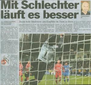 Thomas Schlechter im EXPRESS 11/2007 - Mit Schlechter läuft's besser