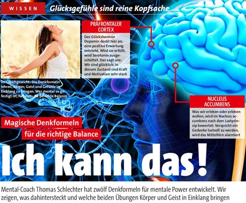 Thomas Schlechter im Gong 19/2013 - Ich kann das