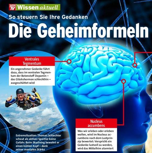 Thomas Schlechter in Super TV Ausgabe 19/2013 - Die Geheimformeln für mehr Erfolg