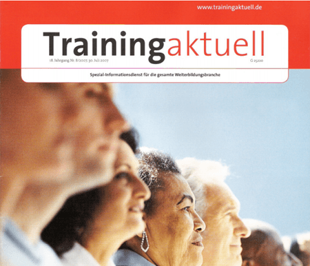 Thomas Schlechter in Training aktuell - Spitzenmotivation
