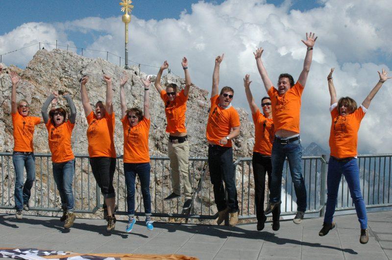 Zugspitz-Gipfelmotivation - Das Hochgefühl