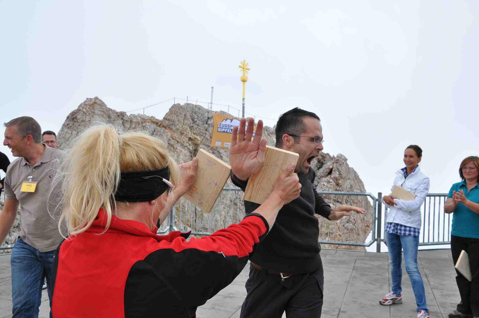 Zugspitz-Gipfelmotivation - Der Durchbruch
