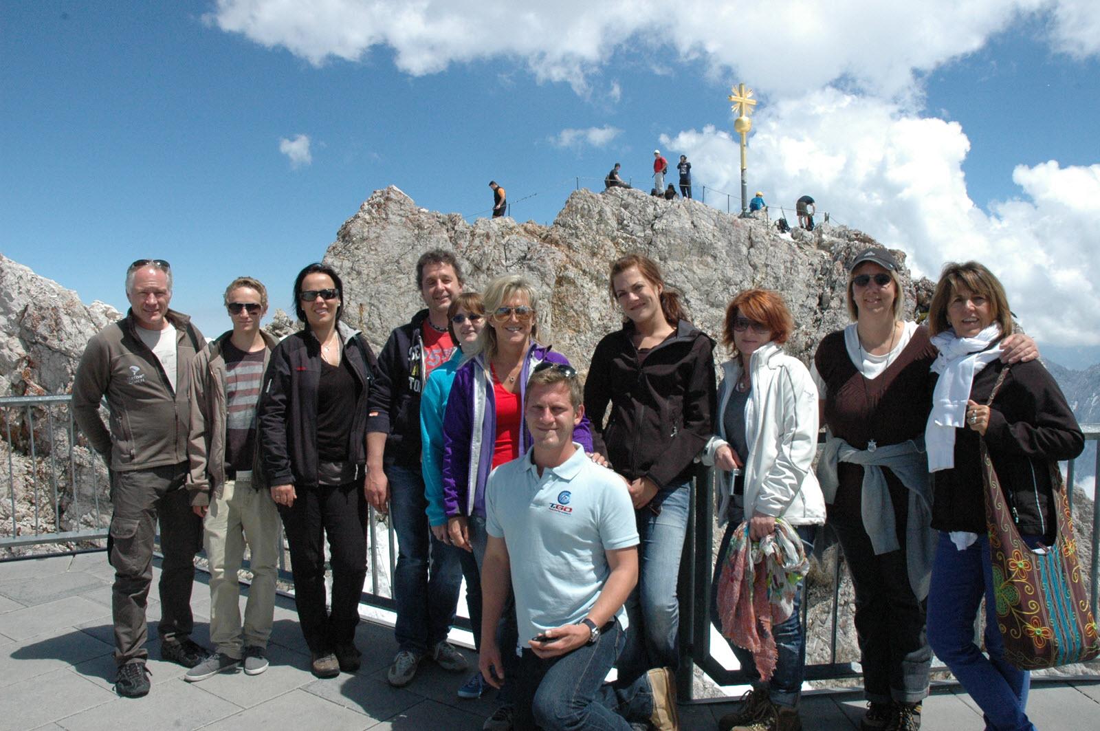 Zugspitz-Gipfelmotivation - Teilnehmer