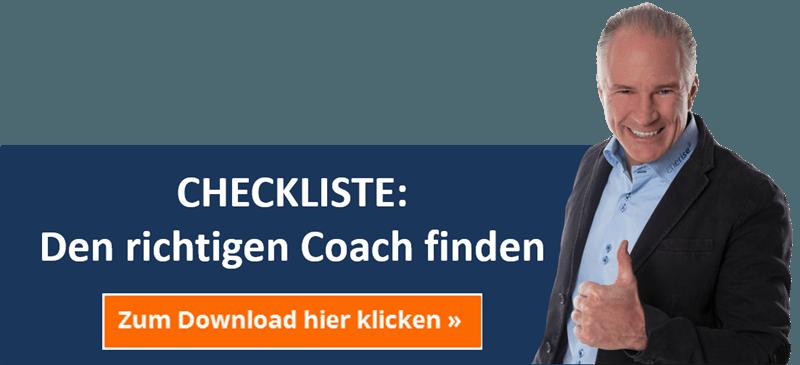 CHECKLISTE: Den richtigen Coach finden
