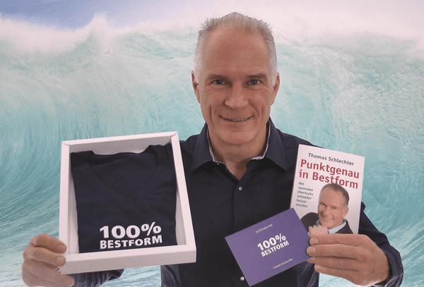 Geschenkbox 100% Bestform von Thomas Schlechter