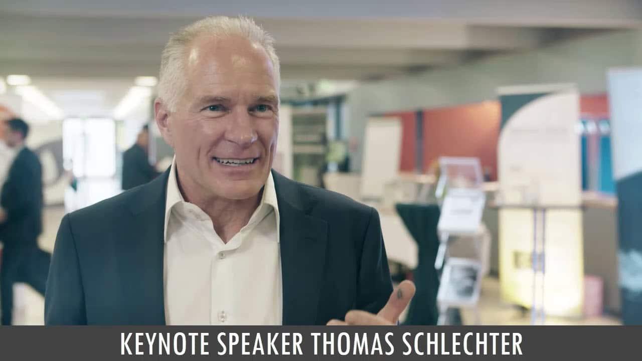 Keynote Speaker Thomas Schlechter
