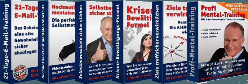 6-Online-Mentaltraining-Programme von Thomas Schlechter